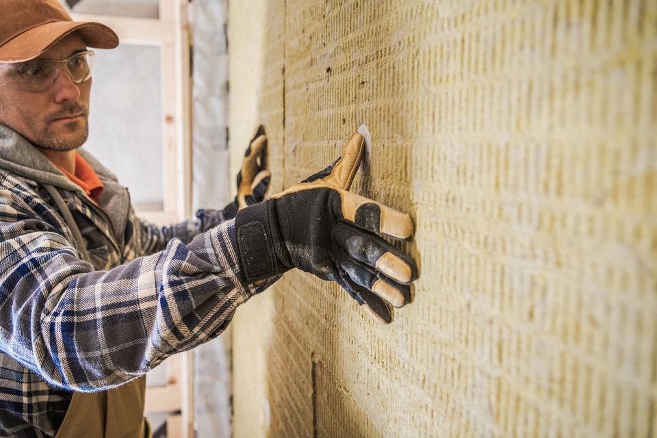 Dämmung von Häusern bei Sanierung